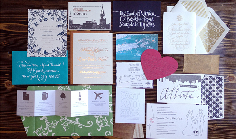 Ipanema Press Long Island S Most Unique Wedding Invitations